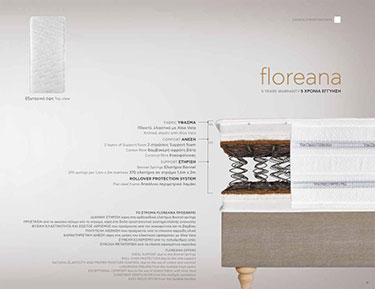 Candia Strom Floreana Classic από 111 έως 120 εκ.