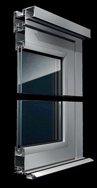 Σύστημα για πτυσσόμενες πόρτες και παράθυρα Exalco Albio 106