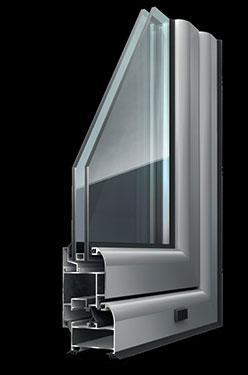 Ανοιγόμενο κούφωμα Exalco Albio 108c