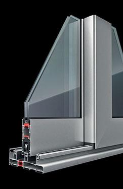 Συρόμενο - Ανασηκούμενο κούφωμα Exalco Albio 225LS με θερμοδιακοπή