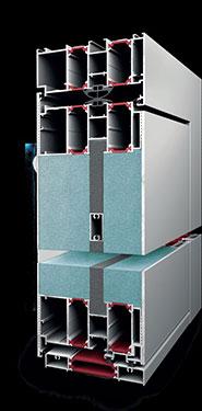 Πόρτα κύριας εισόδου Exalco Premium Door με θερμοδιακοπή