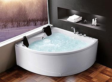 Μπάνιο υδρομασάζ Κ-1202