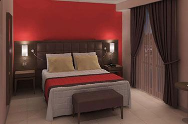 Σύνθεση υπνοδωματίων ξενοδοχείου ART 433