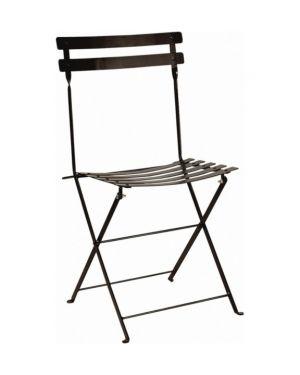 Πτυσσόμενη μεταλλική καρέκλα Ζαππείου/Χ