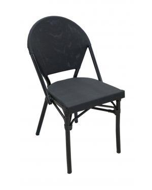 Καρέκλα αλουμινίου Round με textilen