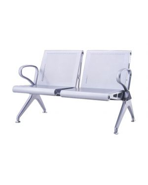 Μεταλλικός καναπές αναμονής Hall/2