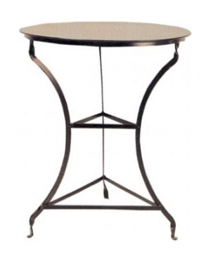 Μεταλλικό τραπέζι καφενείου Χ306