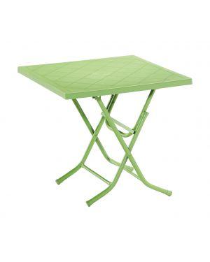 Σπαστό τραπέζι πολυπροπυλενίου Bilbo με πόδια αλουμινίου