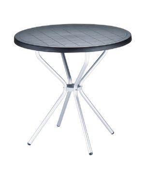 Τραπέζι Poppy από πολυπροπυλένιο & αλουμίνιο